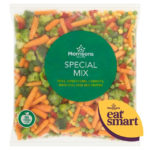 Calories in Morrisons Special Mix Peas, Sweetcorn, Carrots, Broccoli and Red Pepper