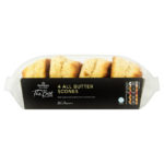 Calories in Morrisons The Best 4 All Butter Scones