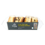 Calories in Morrisons The Best 4 All Butter Sultana Scones