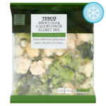 Calories in Tesco Broccoli & Cauliflower Floret Mix Harvested By Hand