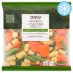 Calories in Tesco Crunchy Vegetable Medley Carefully Prepared