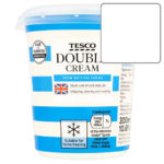 Calories in Tesco Double Cream From British Farms