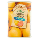 Calories in Tesco Guava Halves in Syrup