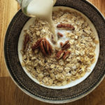 Calories in Oats with Milk and Sugar