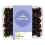 Calories in Morrisons Blueberries
