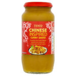 Calories in Tesco Chinese Inspired Curry Sauce