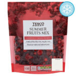 Calories in Tesco Summer Fruits Mix Carefully Hand Picked