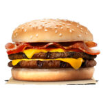 Calories in Burger King Bacon Double Cheeseburger