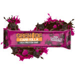 Calories in Grenade Carb Killa High Protein Bar Dark Chocolate Raspberry