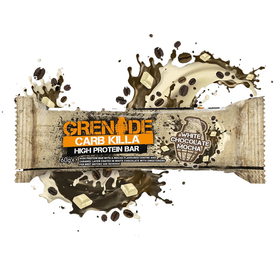 Calories In Grenade Carb Killa High Protein Bar White