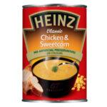 Calories in Heinz Classic Chicken & Sweetcorn