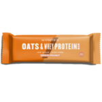 Calories in MYPROTEIN Oats & Whey Protein Bar Low Sugar High Fibre Chocolate Peanut