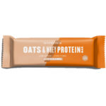 Calories in MYPROTEIN Oats & Whey Protein Bar Low Sugar High Fibre Salted Caramel