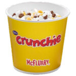 Calories in McDonald's Cadbury Crunchie McFlurry