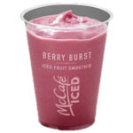 Calories in McDonald's McCafé Berry Burst Iced Fruit Smoothie