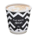 Calories in McDonald's McCafé Flat White