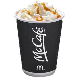 Calories in McDonald's McCafé Toffee Latte