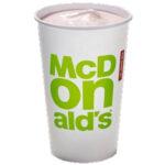 Calories in McDonald's Strawberry Milkshake
