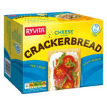 Calories in Ryvita Cheese Flavour Crackerbread
