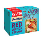 Calories in Ryvita Protein Red Quinoa & Sesame
