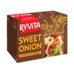 Calories in Ryvita Sweet Onion Crunchy Rye Breads