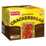 Calories in Ryvita Wholegrain Crackerbread